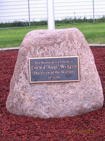 Gerald 'Augie' Wiltgen Memorial